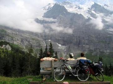 Wyprawa rowerowa Szwajcaria 2009