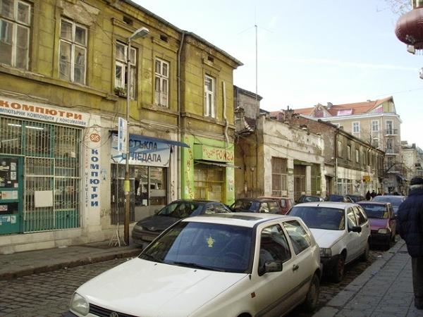 Sofia - boczna uliczka