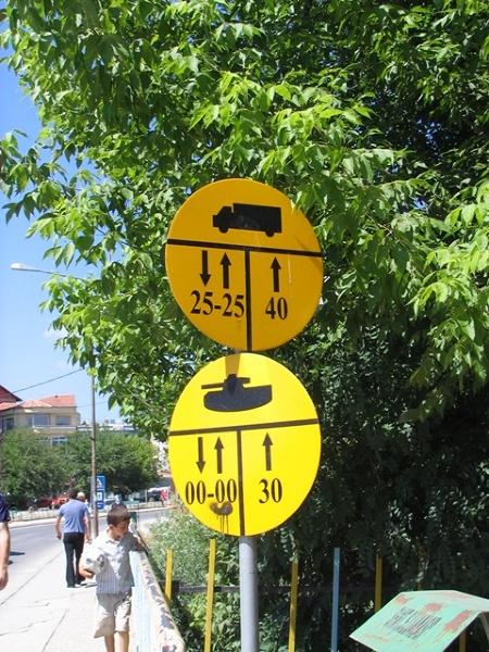Prizren regulujący ruch drogowy