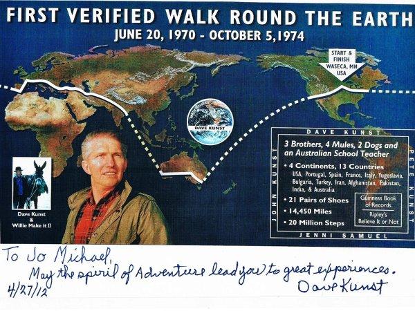 Wywiad z Davem Kunstem – amerykańskim podróżnikiem
