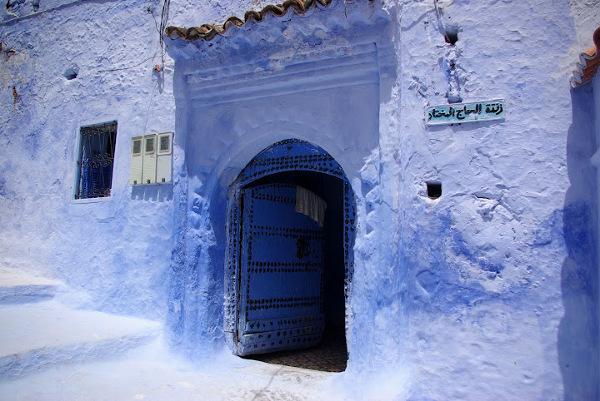 Niebieska medyna Szafszawan, Maroko