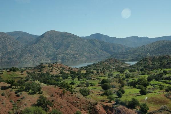 Marokańskie góry.