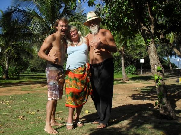 "bezdomni z ""Hiltona""-Kanacha Beach Maui"