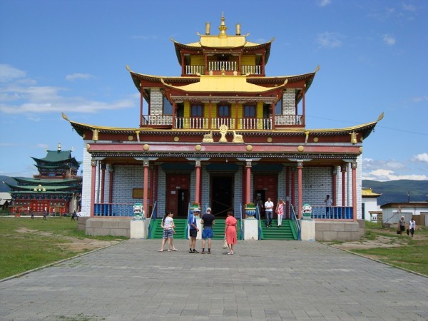 Stupa w Iwołgińsku, stolicy rosyjskiego buddyzmu