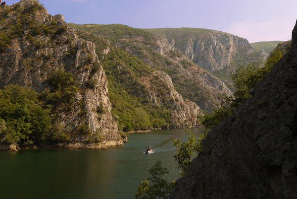 Kanion Matka, Macedonia