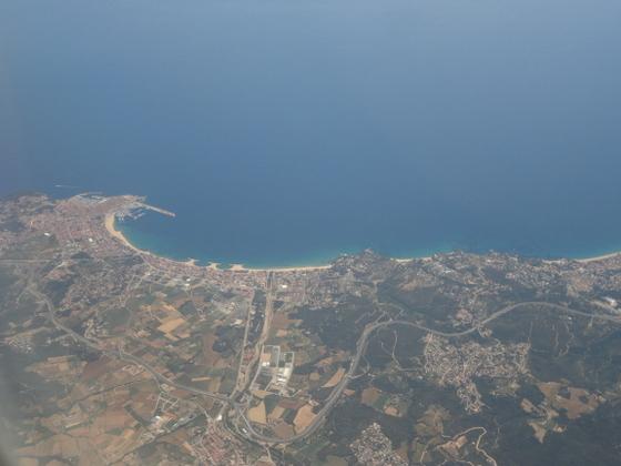 Zdjęcia z Lloret de Mar, Barcelony oraz samolotu.