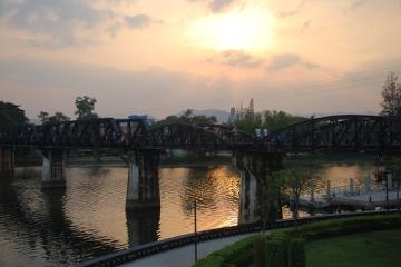 Kanchanaburii - Most na rzece Kwai.