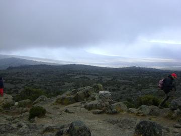 Płaskowyż Shira - pozostałość po dawnym kraterze