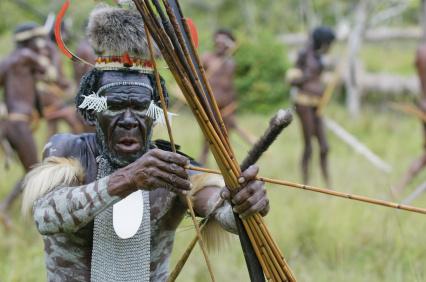 Takie sceny ciągle się zdarzają na Papui-Nowej Gwinei