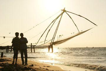 Chińskie sieci rybackie