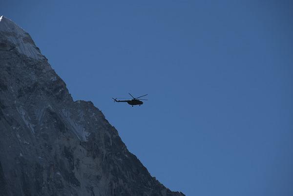 Śmigłowiec ratunkowy, Alpy