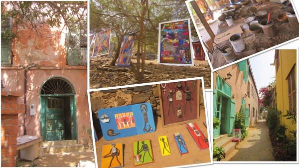 Wyspa Gorée – genialni artyści i kolorowa zabudowa
