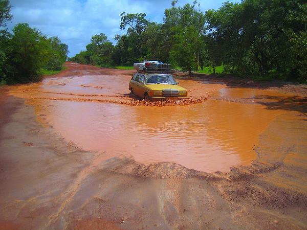 Gambia w porze deszczowej