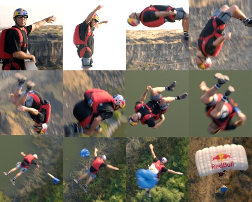 Miles Daisher, base jumping