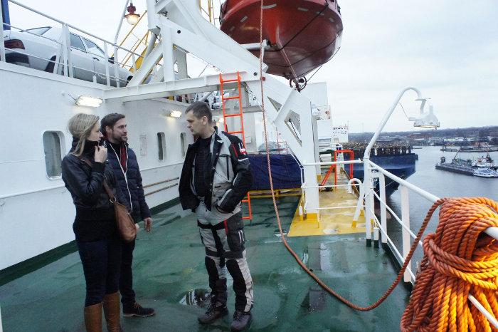 MS Chrobry – ostatni transatlantyk międzywojennej Polski. Z motocyklami przez Atlantyk do Ameryki Południowej