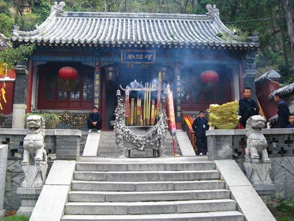 Wreszcie świątynia (Taishan)