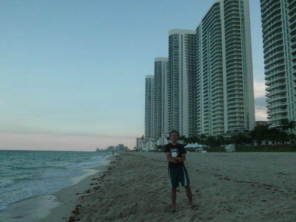 Tomasz Korgol w Miami