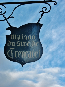 Pośród chmur zawisłam. Carcassonne
