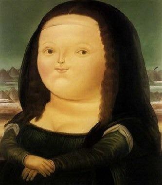 "Fernando Botero ""Mona Lisa w wieku dwunastu lat"" 1959"