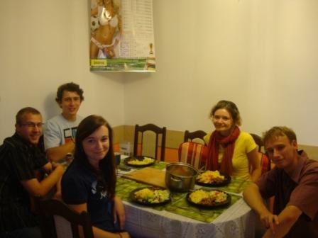 Niezapomniany ciepły obiad w Stalowej Woli. Dziękujemy:)