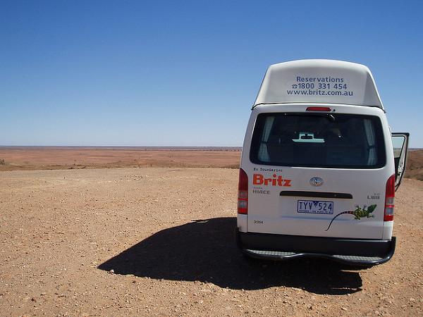 Silverton, Mundi Mundi Lookout, Nowa Południowa Walia. Prawdziwyaustralijski outback! To tutaj kręcono sceny z Mad Maxa.