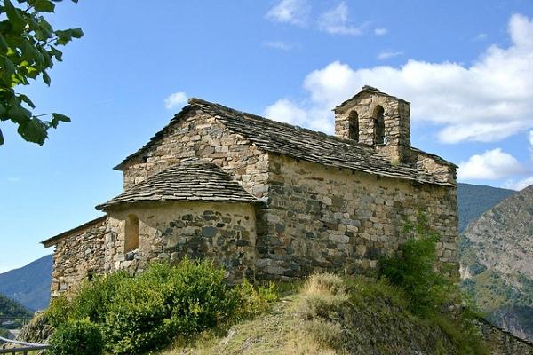 Kościół Sant Serni de Nagol.