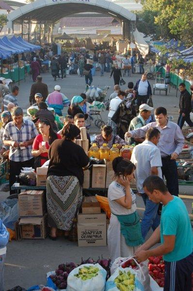 Bazar Chorsu w Taszkencie