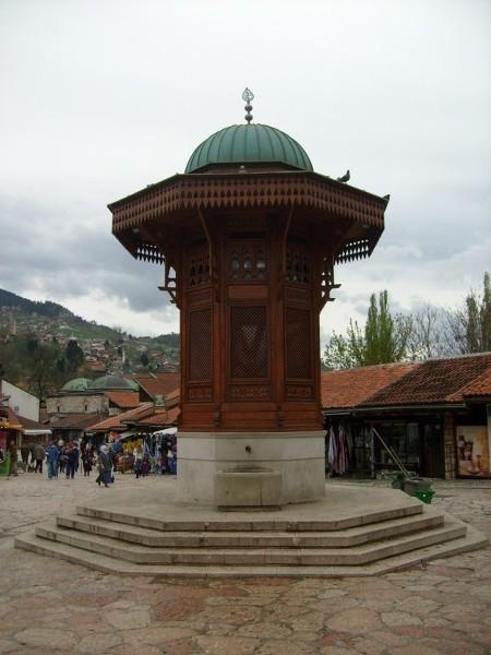 Bascarsija w sercu Sarajewo