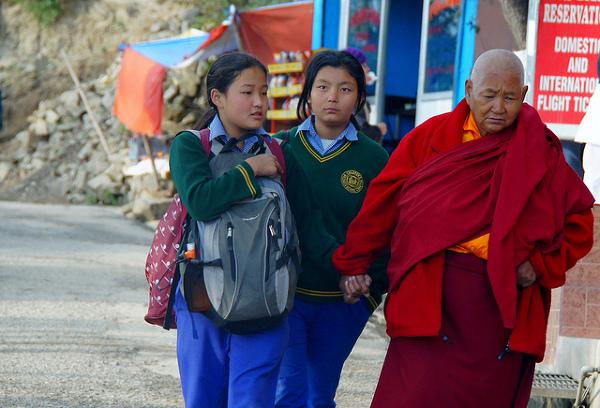 """W sumie to już wiem dlaczego Dharamsala  jest nazywana """"małą Lhasą""""."""
