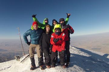 Na szczycie Araratu