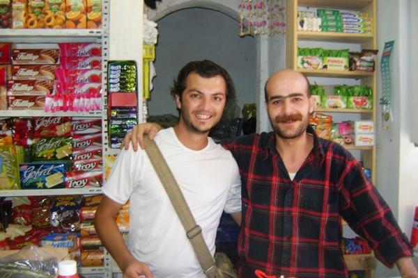 Yahya, mój towarzysz podróży i spotkany w Mardin syn jego sąsiada