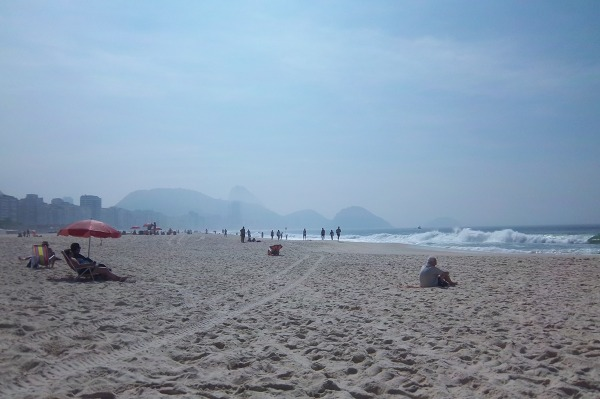 Copacabana - plaża miejska w Rio de Janeiro