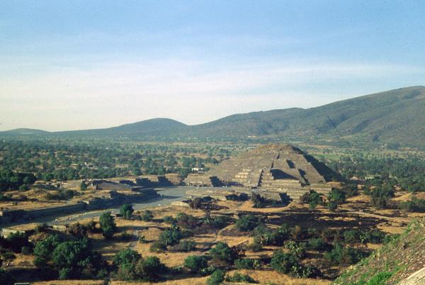 Meksyk. Teotihuacán
