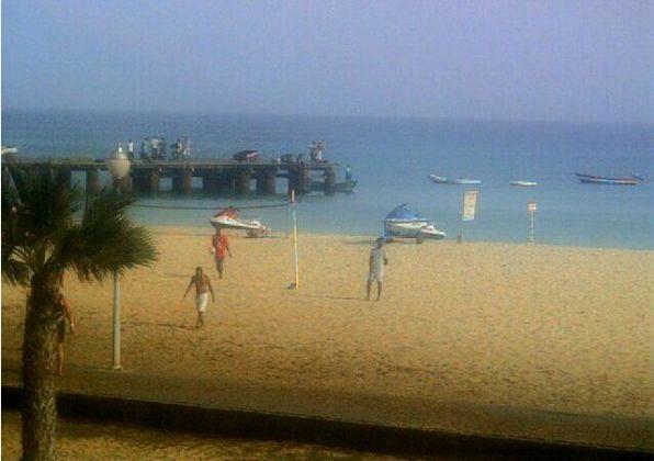 Plaża w Santa Maria, wyspa Sal