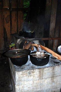 Po męczącym dniu czekały nas przepyszne posiłki