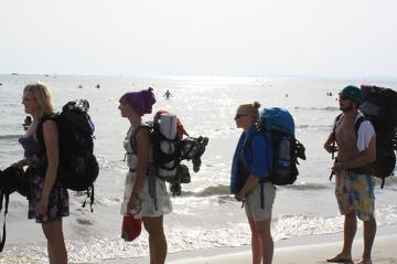 Plażowe losy backpackera i autostopowicza - w której wydmie śpimy?Le Grau du Roi, Francja