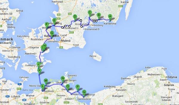 Pierwsza i na pewno nie ostatnia wyprawa rowerowa przez Niemcy, Szwecję i Danię