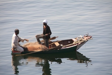 Połów na Nilu