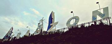 Trabzon jak Hollywood.