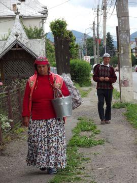 Rumuni z Bukowiny, Rumunia