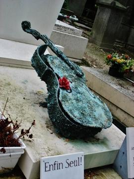 Grała mi w duszy muzyka (Père Lachaise)