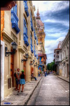 Cartagena. Hiszpanie nadawali nowym miastom nazwy, które znali ze swej ojczyzny na ogół ze względu na podobny klimat.
