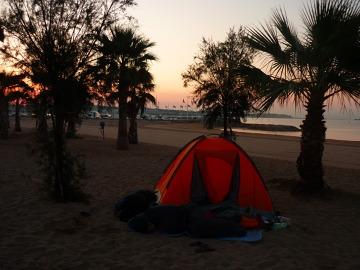 Poranek na Lazurowym Wybrzeżu