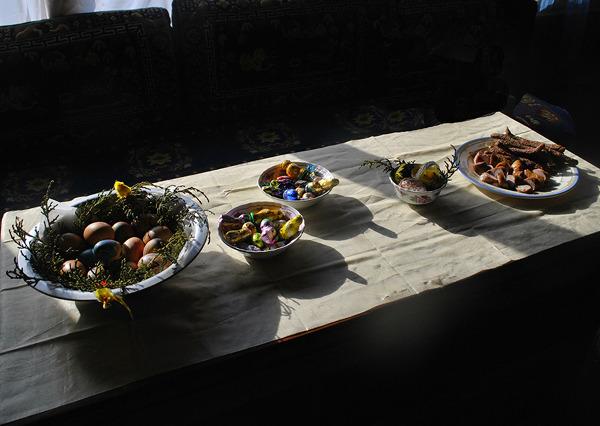 Świąteczne śniadanie w Pangboche 3800 m