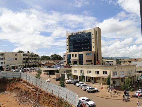 Pierwszy dzień w Rwandzie. Kigali