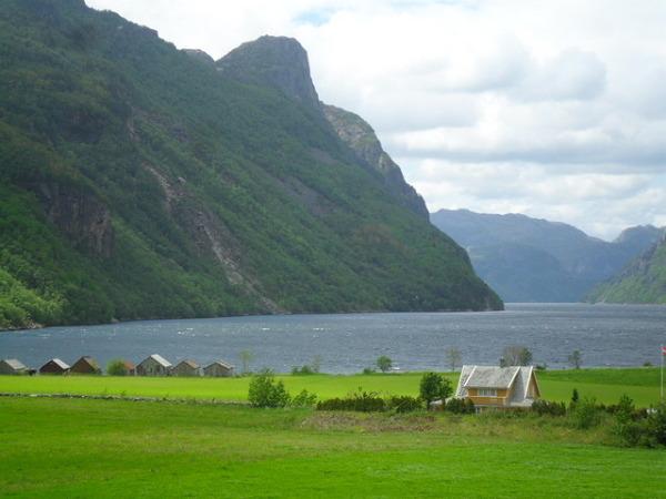 Norweska wiosna, Frafjord, jak dla mnie magiczna dolina.