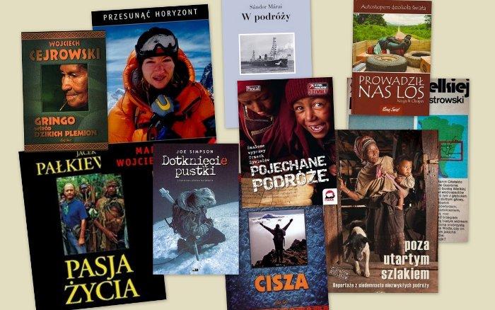 TOP 10 książek podróżniczych
