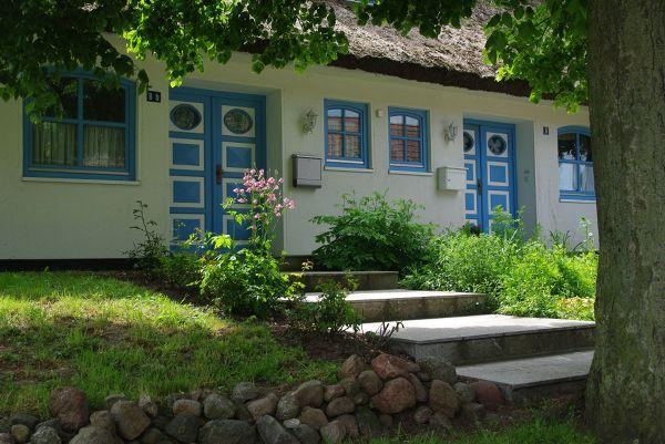 Gross Schoritz, miejscowość urokliwych, krytych strzechą domków