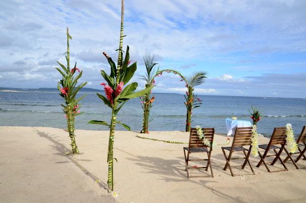 Ślub na południowym Pacyfiku