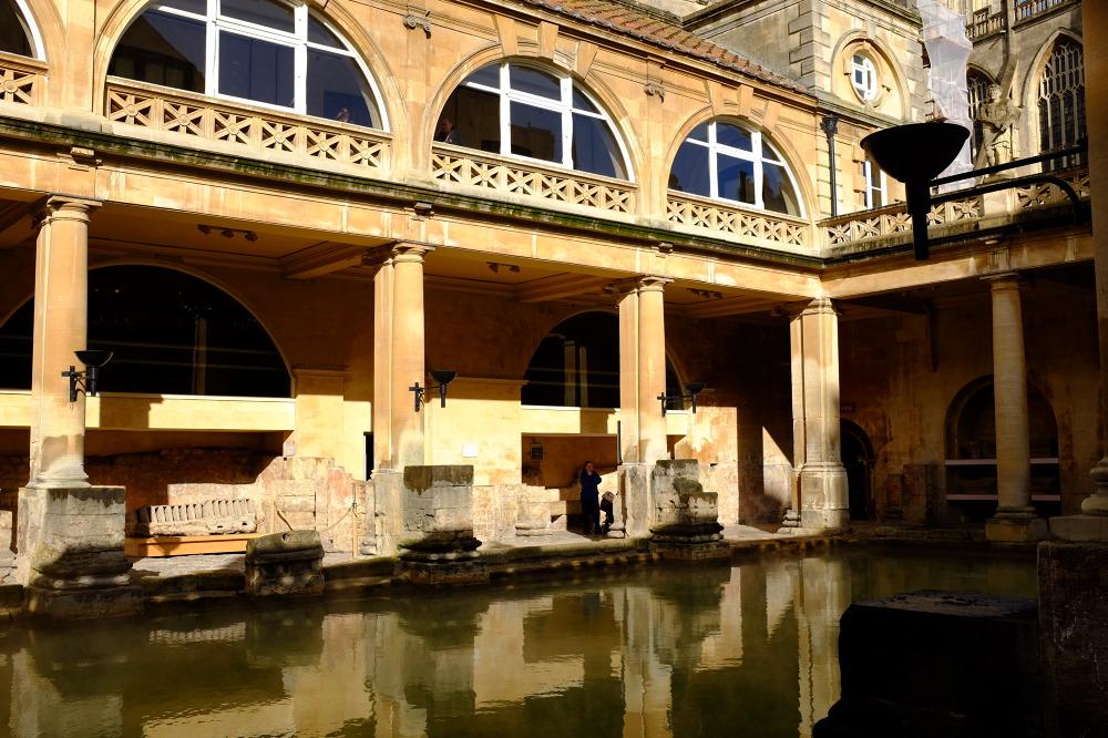 Bath – kąpiel w rzymskiej wannie